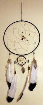 Eagle Feather Dream Catcher Handmade Dreamcatcher with Eagle feathers by KelseySparrow100 on 2
