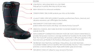 Cosmas Vulcan Structural Boots
