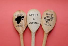 Wooden Spoon Game Stunning Game Of Thrones Spoons Set Of 32 Kitchen Utensil Dinner Is Etsy