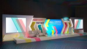 Event Stage Design 3d Project Corporate Event Stage Design Stage Backdrop