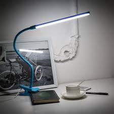 ma02 4w flexible gooseneck clip led desk lamp eye protection