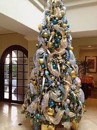 Gold Christmas Decorations, Elegant Christmas Trees, Blue Christmas Trees,  What's Christmas, Silver Christmas, Christmas Ideas, Coastal Christmas, ...