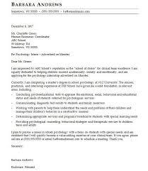 Cover Letter For An Ngo Internship Psychology Cover Letter