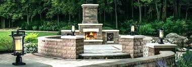 enchanting outdoor fireplace pizza oven and backyard with for plans o designs