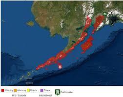 The national tsunami warning center serves the continental united states, alaska, and canada. 7 5 Magnitude Quake Off Alaska No Tsunami Threat For Oregon