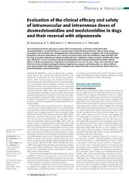 Dexmedetomidine Dose Chart Pdf Evaluation Of The Clinical Efficacy And Safety Of