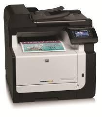 Hp Color Laserjet Pro Cm1415fn Multi Function Printer Amazon Co Buy Color Laser Printer L