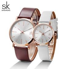 Shengke Women Dress <b>Watches Luxury Lovers</b> Couple <b>Watches</b> ...