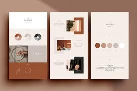 Graphic Design Presentation Pdf Auburn 24 Brand Sheets Presentation Templates Creative
