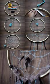 Dream Catcher Patterns Step By Step ▷100 Ideas for Clever and Easy Craft Ideas and DIY Art Projects 71
