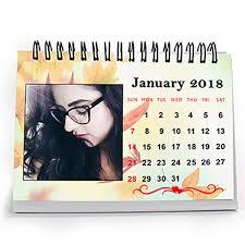 incredible personalized desk calendar 2018