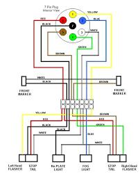 trailer light plug wiring for trailer trailer wiring schematic trailer