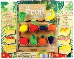 Fruit Vending Machine Mesmerizing Buy Fresh Fruit Erasers Vending Capsules Vending Machine Supplies