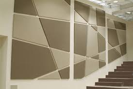 fiber wrapped acoustical wall panelling