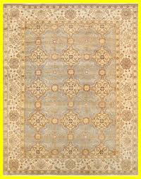 sultanabad hand knotted wool yellow gray area rug rug size square 9 10 x 10