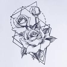 пин от пользователя гера на доске мехенди Tattoos Geometric Rose