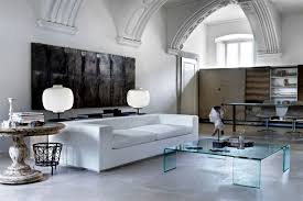 italian glass furniture. Glass Furniture From Italy Gives The Room Artistic Touch Italian E