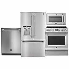 kenmore appliances. kenmore pro 4-piece stainless steel kitchen suite appliances