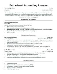 Accounts Assistant Sample Resume M Labo Co