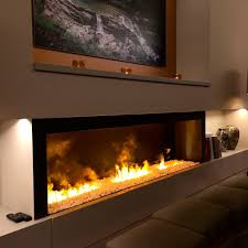 electric fireplace wall