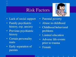 Image result for anxiety risk factors