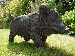 metal pig garden ornament designs