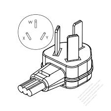 Usa canada nema10 50p 3 p 3 wire non grounding
