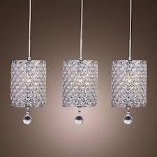Contemporary crystal pendant lighting Globe 40w Moderncontemporary Crystal Chrome Metal Pendant Lights Bedroom Dining Room Study Room Pinterest Best Crystal Pendant Lighting Images