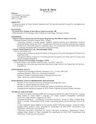 Resume Examples For Work Experience