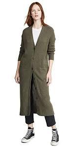 360 Cashmere Size Chart 360 Cashmere Womens Gabriela Cashmere Cardigan Olive