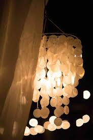 mother of pearl chandelier. White Mother Of Pearl Cadiz Shell Chandelier