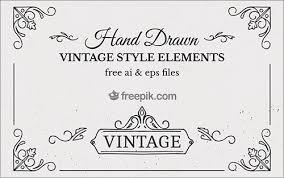 商用利用無料しっかりと作りこまれたヴィンテージ スタイルのデザイン