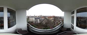 Panorama Vorm Fenster Unterm Dach
