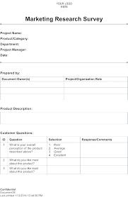 Free Survey Template Word Survey Template Word Free Templates Satisfaction Sample