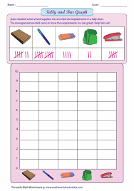 Blank Tally Chart And Bar Graph Worksheet Reading Tally And Drawing Bar Graph Bar Graph Template