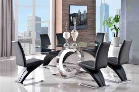 Black Glass Dining Table And Chairs Ebay