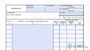 Learn How To Fill The Dd 1750 Form Packing List Youtube