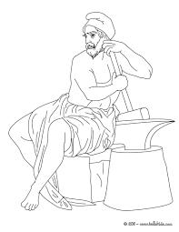 Hephaestus Greek Goddess Gods Coloring Page