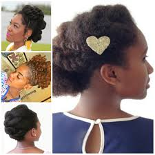 Natural Formal Hairstyles Soft Updos For Natural Hair Hairstyles 2017 New Haircuts And
