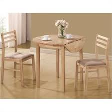 room table displays coaster set driftwood: coaster dinettes casual  piece table and chair set