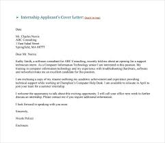 Consulting Cover Letter Examples My Document Blog Consulting Internship Cover Letter