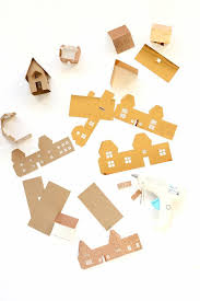 Christmas House Template Free Christmas Mini House Cut File Or Template Scrap Booking