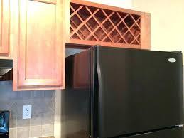 wine rack for refrigerator cabinet above fridge m o97 above