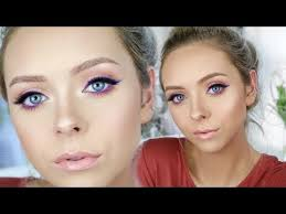 today i m showing you this simple makeup look but with a
