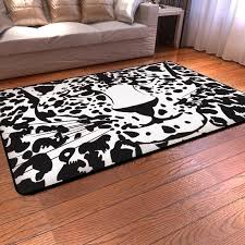 black and white leopard print rug best decor things