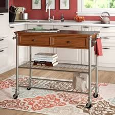 High chairs for kitchen island Nepinetwork Kibbe Kitchen Island With Wood Top Savagismsme Kitchen Island High Chairs 24 Wayfair