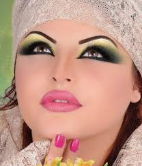 looks arabic wedding makeup