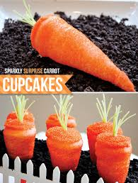 Easter Diy Tutorial Carrot Shaped Cupcakes Hostess With The Mostess