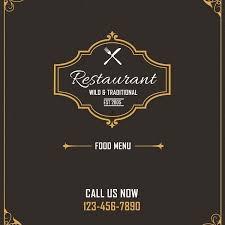 Design A Menu Free Restaurant Menu Design Free Psd Free Photoshop Downloads