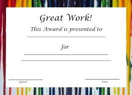 Recognition Awards Certificates Template Employee Award Certificate Templates Free Printable Recognition